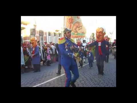 Carnaval 2018 - Intocht Bergen op Zoom (Krabbegat)