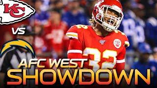 Stop Melvin Gordon in AFCW Showdown - Chiefs vs Chargers Gameplan | Kansas City Chiefs News NFL 2019