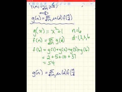 Mobius Inversion Formula
