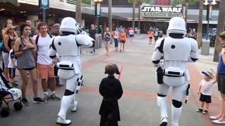 Star Wars Escort To Kylo Ren 4-16 First Order Hollywood Studios (must Watch Ending)