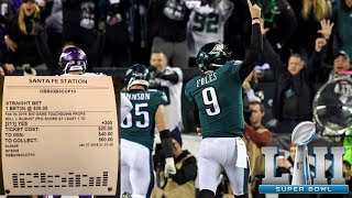 Eagles Super Bowl MVP Bets Made!!! Putting Money Where My Mouth Is!!!