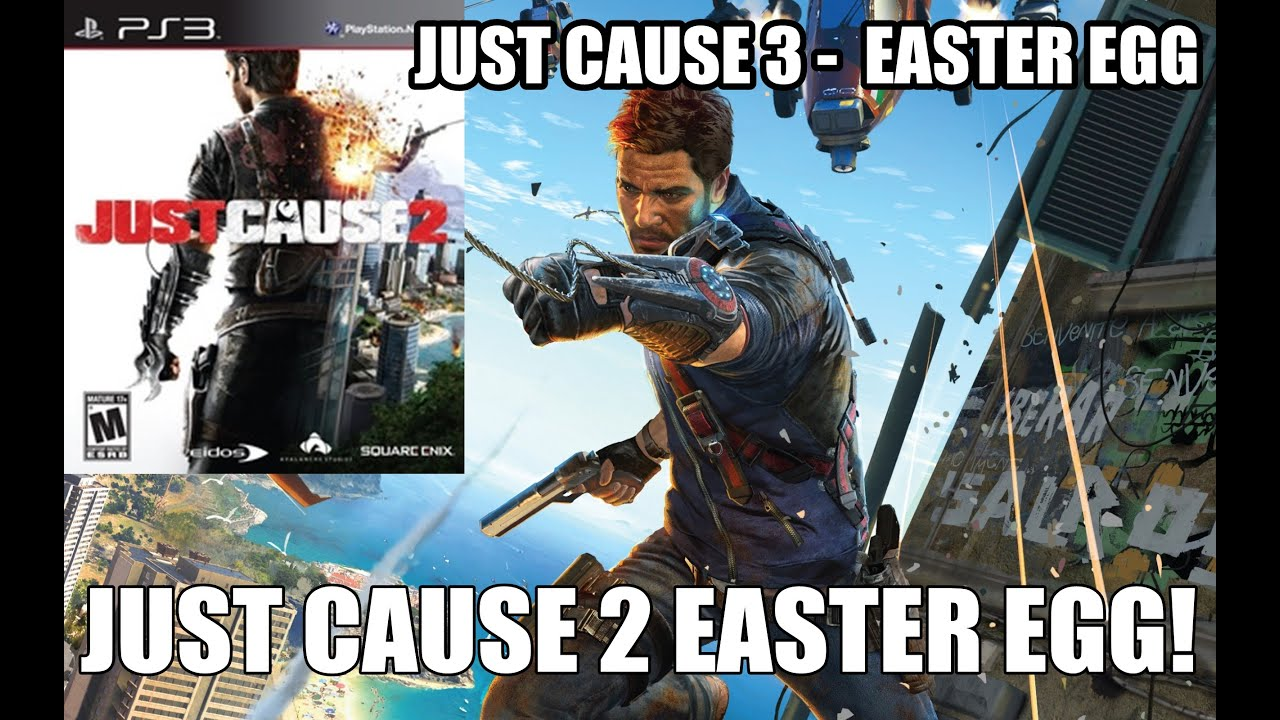 JUST CAUSE 3 EASTER EGG: Os DVDs de Just Cause 1 e 2 - YouTube