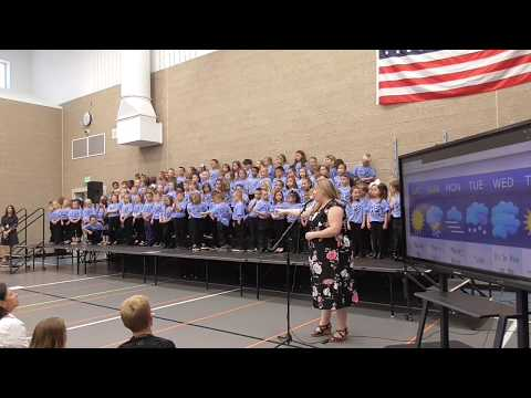 "High Plains School Kindergarten & 1st Grade - ""The Weather Report"" Concert"