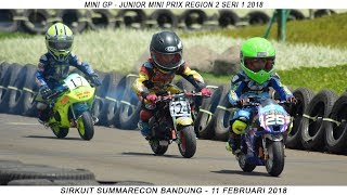 THE MOST SMALL MOTOR RACING | Pocket Bike Racing Kids (MINI GP Indonesia)