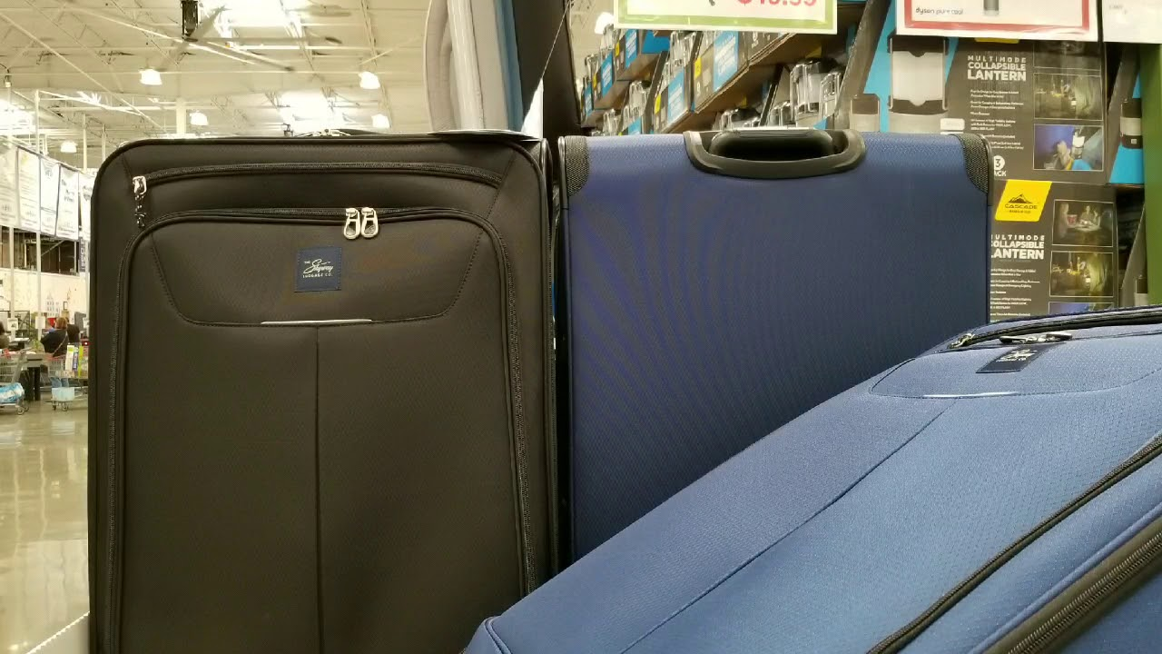 d30d527a9 Costco! Skyway Luggage Superlight 28-inch Spinner! $49!!! - YouTube