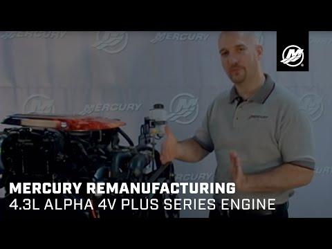Mercury Remanufacturing 4.3L Alpha 4V Plus Series Engine