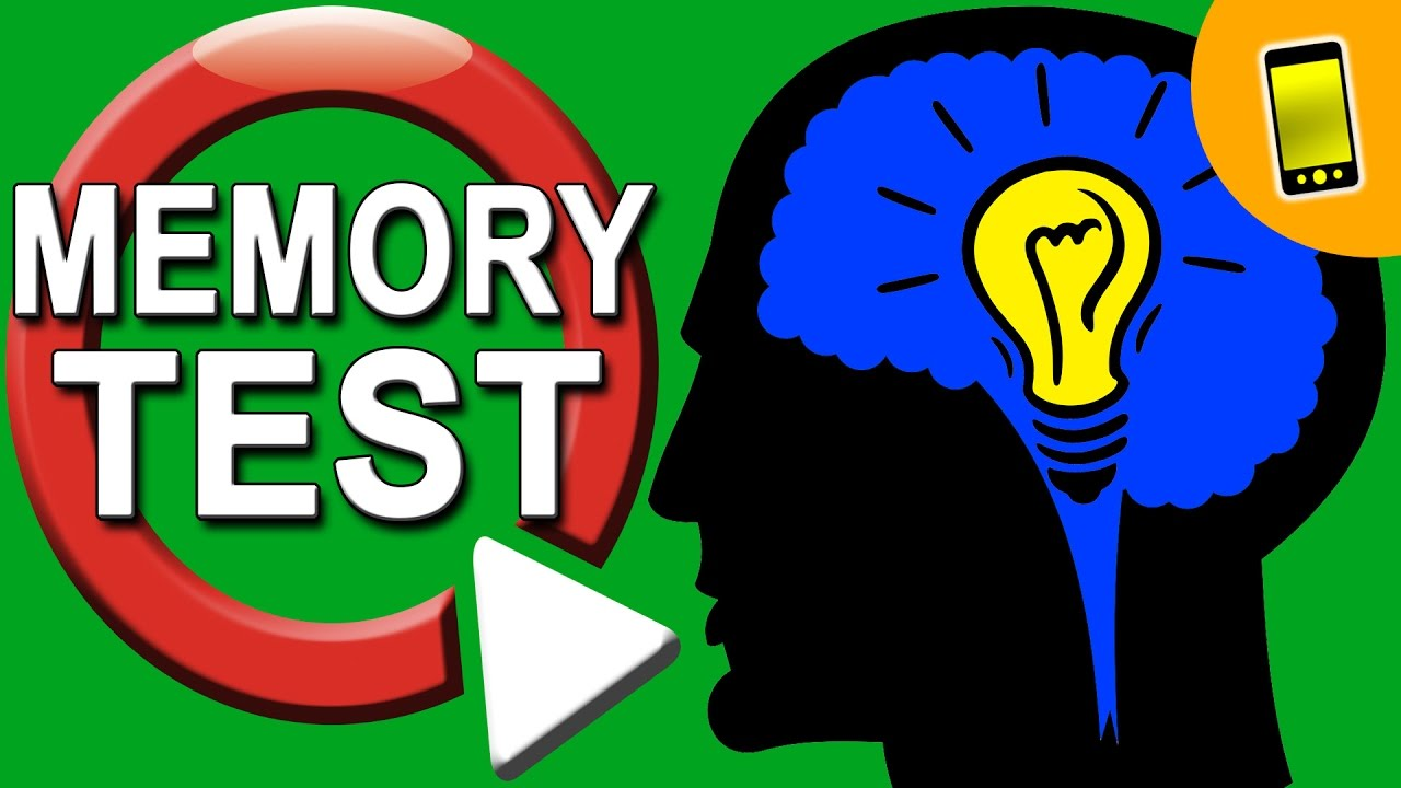 Memory Test | Are You A Genius? - YouTube