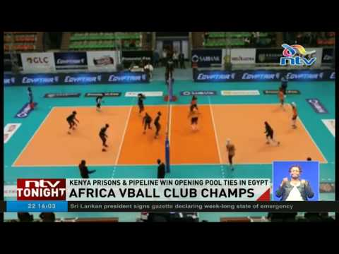 Kenya Prisons and Pipeline win opening ties in Africa Volleyball Championship