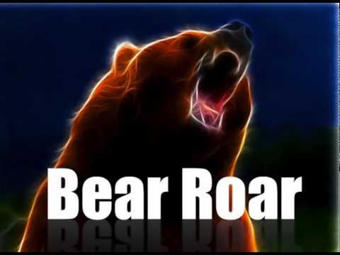 BEAR ROAR SOUND IN HIGH QUALITY