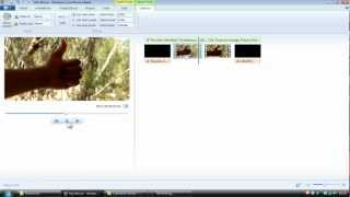 Basic Video Editing Tutorial using Windows Movie Maker