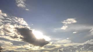 Небо 2 мая 2014 г. над п. Зимовники, Ростовская область