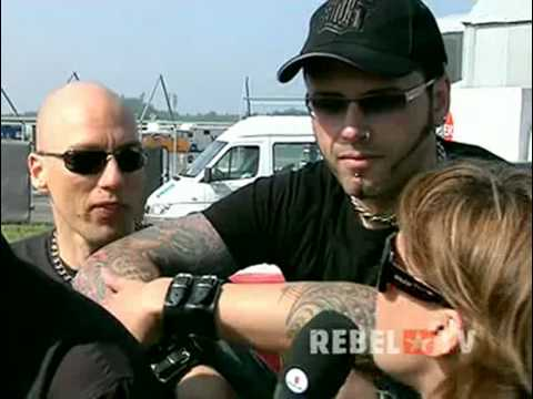 OOMPH! Interview at Rock Am Ring 2008 in Germany