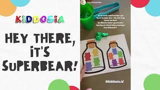 Ready Super Bear Edutoys Terbaik Mainan Edukasi Anak Murah Terbaru