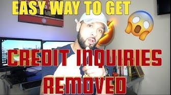 How To Remove Hard Credit Inquiries! NEW Easy way to fix Your CREDIT and CREDIT SCORE!