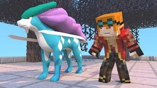 CACHORROS LENDARIOS - POKEMON DA SORTE ( Minecraft )