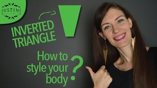 How to style an inverted triangle body (V-shaped body) | Justine Leconte