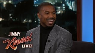 Michael B. Jordan on Creed 2, Sylvester Stallone & Roy Jones Jr.
