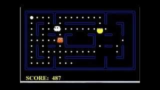 Artificial intelligent Pacman min-max algorithm & q-learning algorithm demonstration