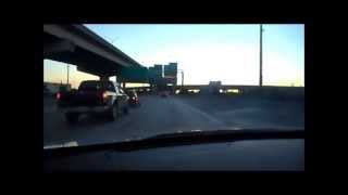 Driving back thru the Spaghetti Bowl (Golden Glades Interchange) Miami, FL