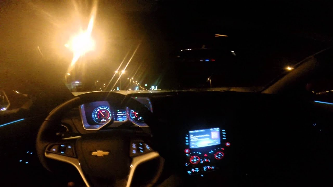 Night Time Cruise On The Highway With The 2014 Chevrolet