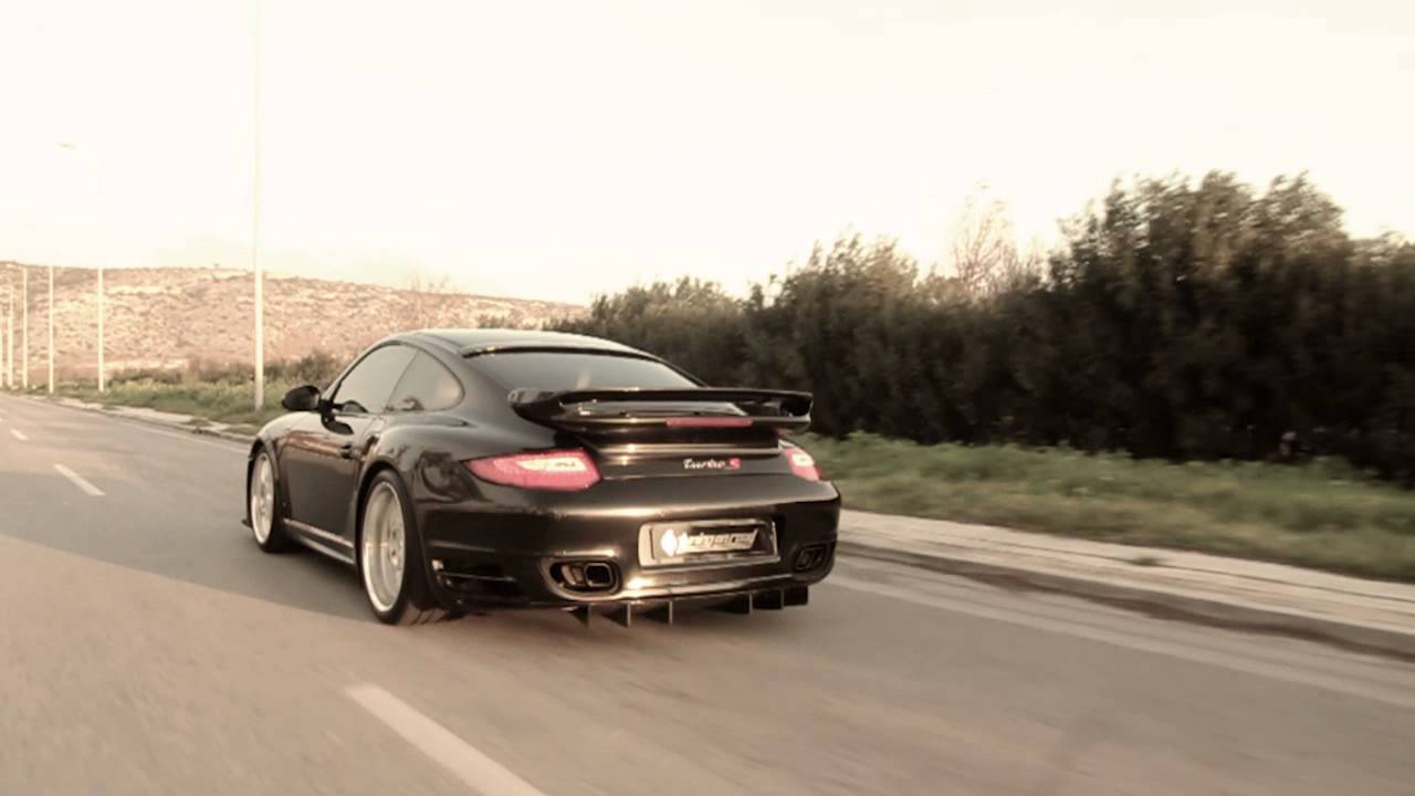 porsche 911 997 turbo by tuning on road youtube. Black Bedroom Furniture Sets. Home Design Ideas