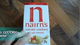 Review Nairns Nairn's Oatcake Crackers Rough Oatmeal Gluten Casein Wheat Lactose Dairy Free