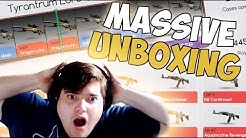 NO WAYY!!!!!! (DrakeMoon unboxing and MASSIVE CS:GO GIVEAWAY!!)