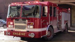 Scranton Fire Department Car 21, Engine 4 & Truck 2 Responding