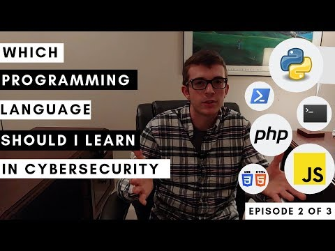 Which Programming Languages Should You Learn For Cybersecurity 2019