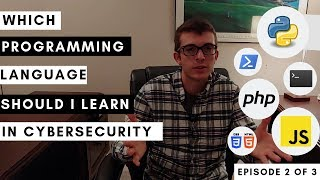 In this episode, episode 2, i address the specific type of programming languages you should to learning as a student cybersecurity industry... often r...