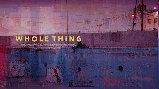 DVSN Type Beat - Whole Thing | R&B/Soul Instrumental