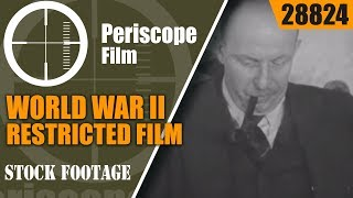WORLD WAR II RESTRICTED FILM GERMAN INDUSTRIAL MACHINE