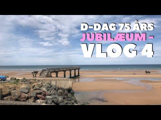 D-Dag 75 års jubilæum - Vlog 4 -  Den Amerikanske kirkegård og Omaha Beach