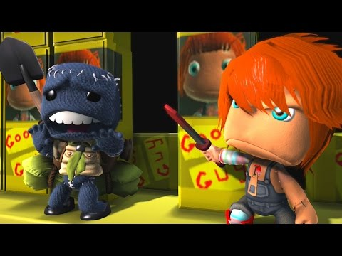 CHUCKY SURVIVAL STORY PART 1 and 2 | LittleBIGPlanet 3 Gameplay (Playstation 4)