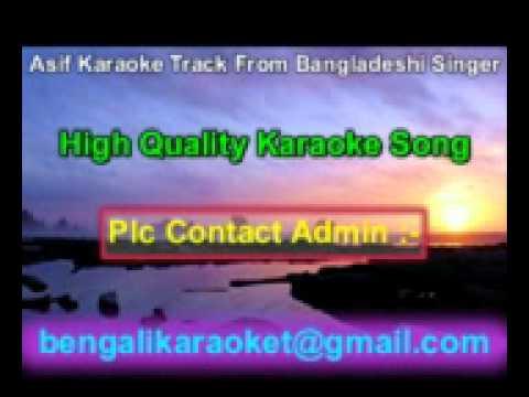 Ei Buke Eto Jala Pure Gache Mon Karaoke Asif Bangladeshi Album Song
