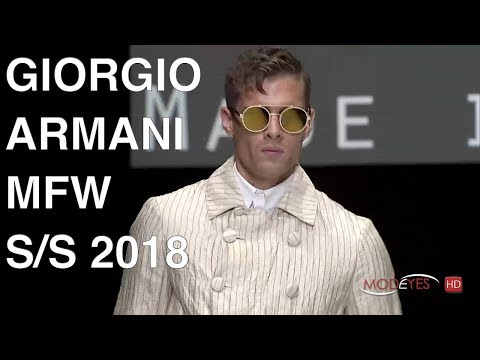 GIORGIO ARMANI | SPRING SUMMER 2018 | FASHION SHOW HD