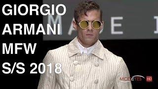 GIORGIO ARMANI | SPRING SUMMER 2018 | FASHION SHOW HD