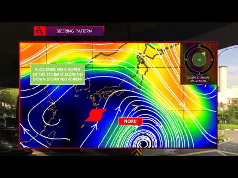 Typhoon Noru strikes Japan, New storm possible in the Atlantic