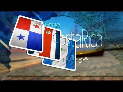 Costa Rica, Nicaragua en Panama.