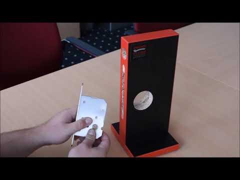 Karcher Design EPD - Set di maniglie ad incasso per porte scorrevoli
