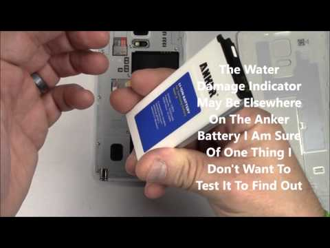 Samsung Galaxy Note 4 Battery Replacement Anker AK-A6035021 (With NFC)
