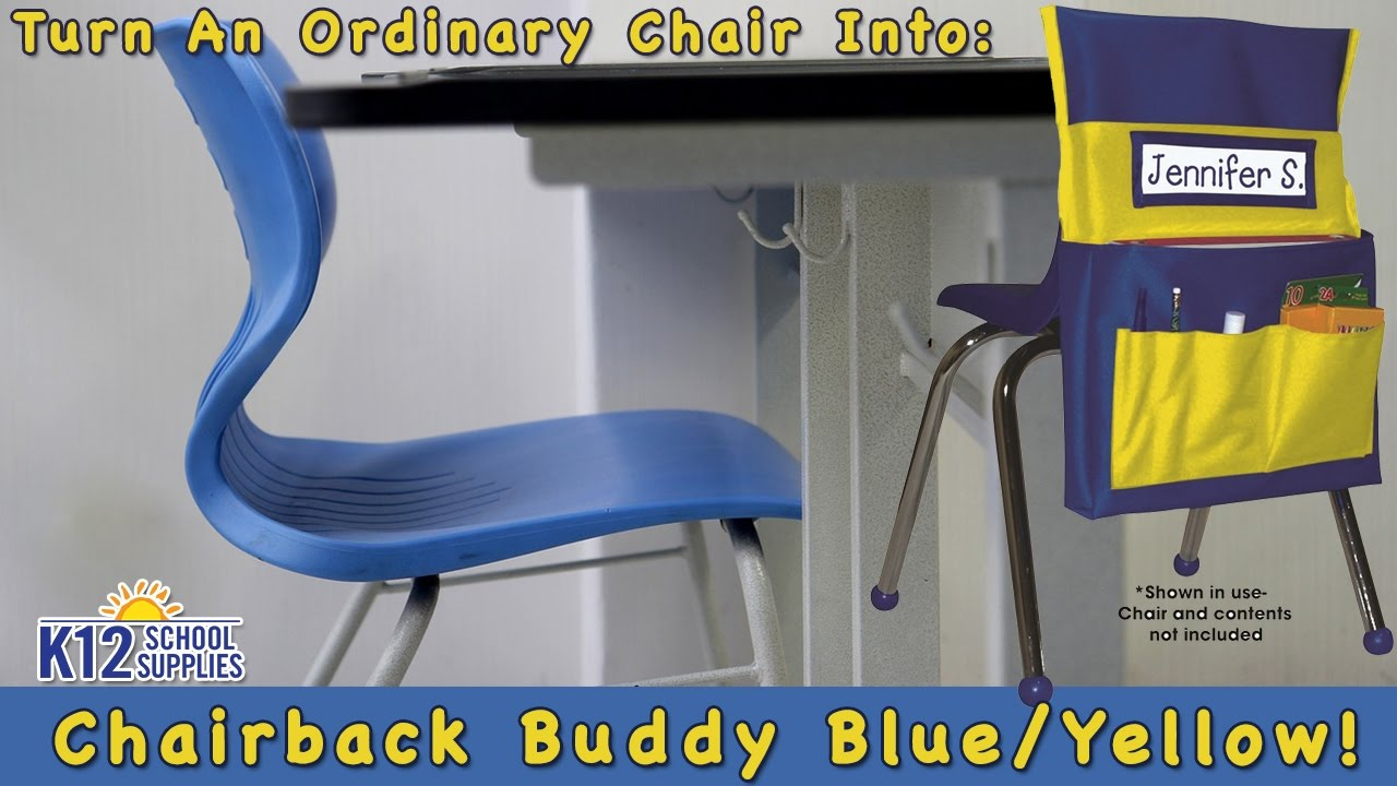 Chair Pockets Chair Bags for Classroom Seat Sacks YouTube
