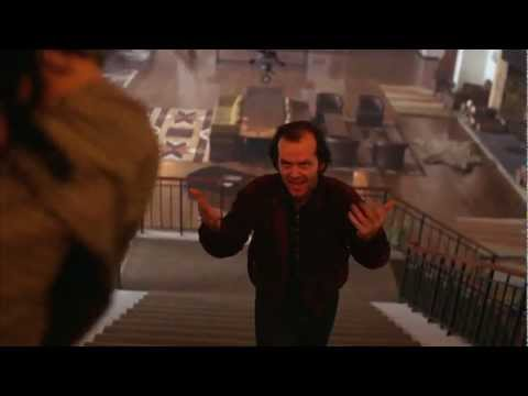 THE SHINING STAIRCASE SCENE