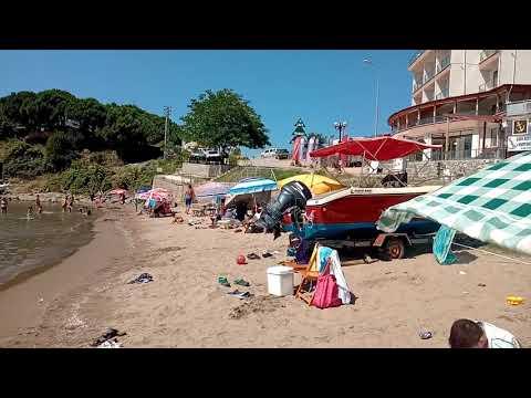 Tatilcilerin yeni gözdesi Mugada plajı