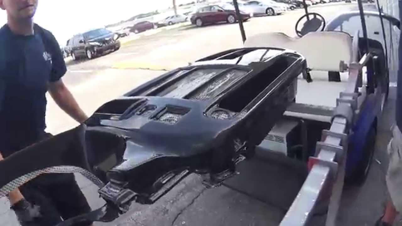 Hydro Dip Or Water Transfer Printing A Dash Of Car Or Van Youtube