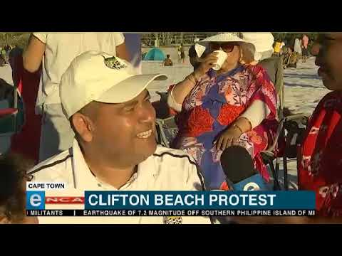 UPDATE: Clifton beach protest
