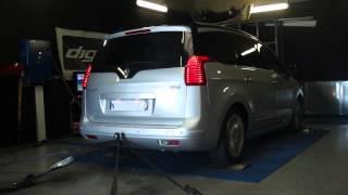 Peugeot 5008 HDI 110cv @ 138cv reprogrammation moteur dyno digiservices
