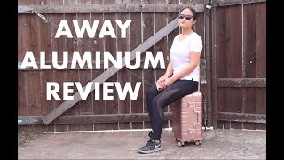 Away Aluminum Review | Alchemy Rose Gold Carryon