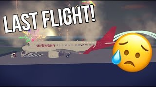 ROBLOX airBritain last A320 FLIGHT (trabajando)