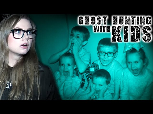 GHOST HUNTING with KIDS!